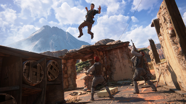 Uncharted 4 screenshots