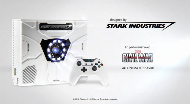 Introducing the Stark Industries Xbox One that you can't have