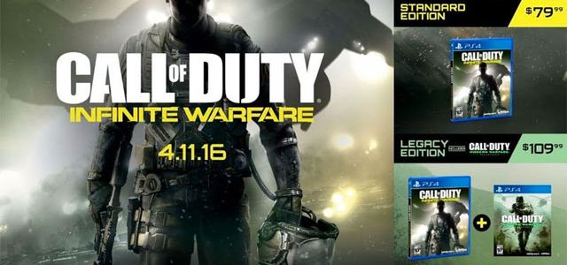 COD4 Modern Warfare remastered includes campaign, 10 maps
