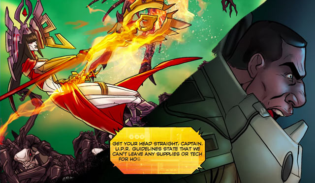 battleborn motion comic series