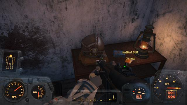 fallout 4 hazmat suit location