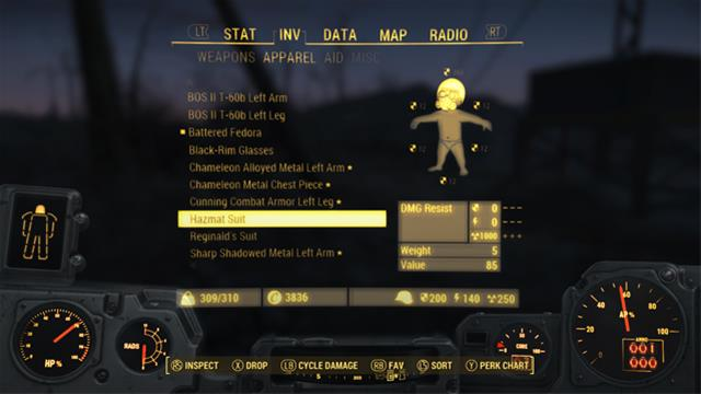 fallout 4 hazmat suit location