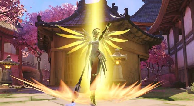 Latest Overwatch patch has apparently broken Mercy's Skill Rating gains