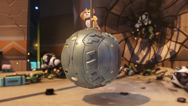 wrecking ball ultimate voice line