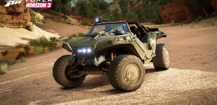 The Halo Warthog is coming to Forza Horizon 3