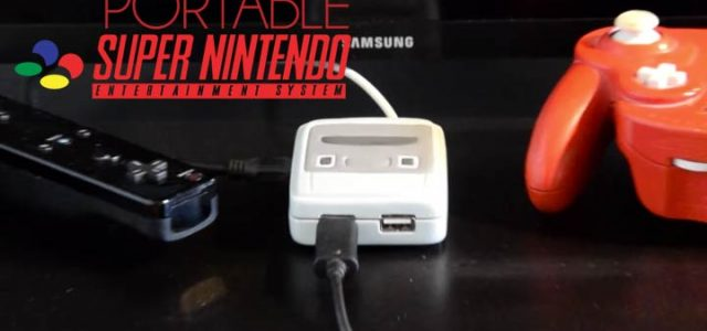 Inspired by the NES Mini, this gamer has created a mini SNES emulator