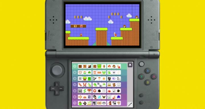 Super Mario Maker set for Nintendo 3DS release, won't have online play