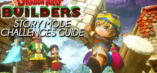 Dragon Quest Builders recipes guide: Story Mode challenges