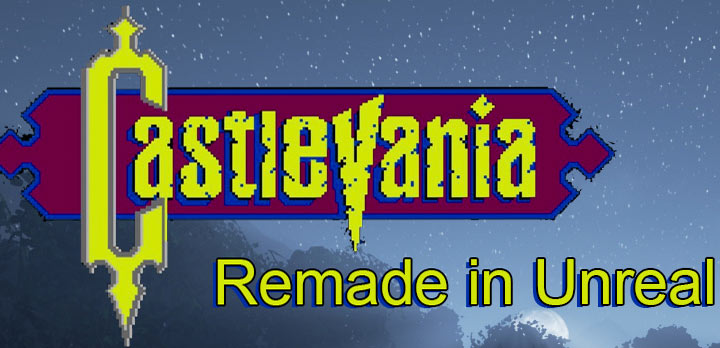 Castlevania remake made in Unreal Engine 4