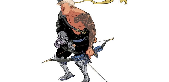 Donald Trump is a Hanzo main that doesn't play the team game, claims cheeky Overwatch-themed campaign
