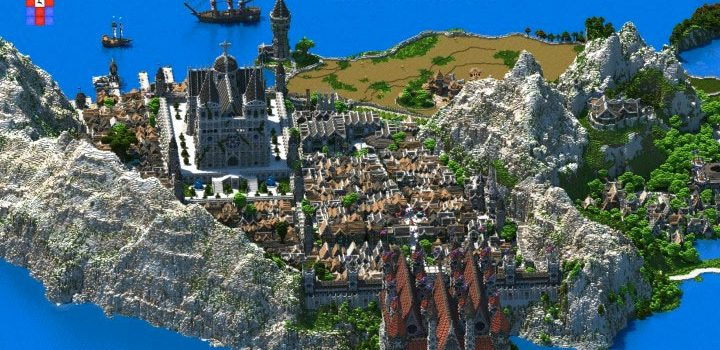 The inspiring Minecraft kingdom that took 4 years to build