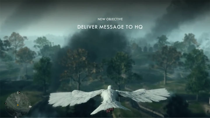 There's a hidden message in Battlefield 1's pigeon mission