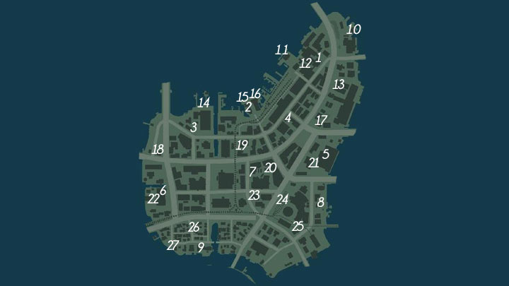 Mafia 3 Collectibles Location Guide Fenix Bazaar