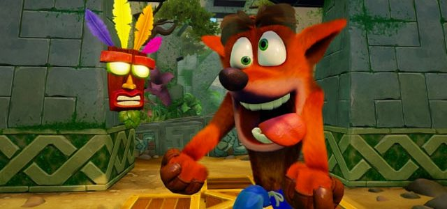 Remember Crash Bandicoot? He's back, in remastered form