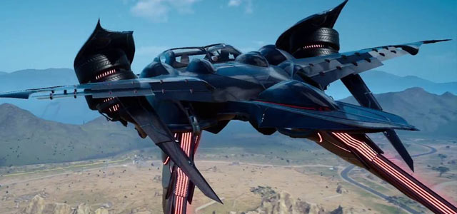 How to unlock the Final Fantasy XV Regalia Type-F Flying Car