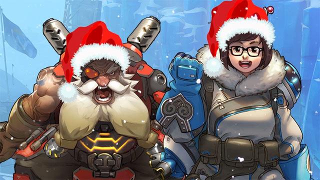 overwatch christmas