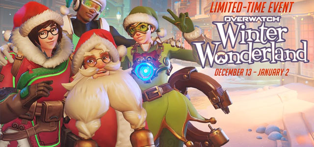 Overwatch's Winter Wonderland: All Skins, emotes, and sprays
