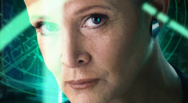 Carrie Fisher had a small role in Dishonored, and hardly anyone knew about it