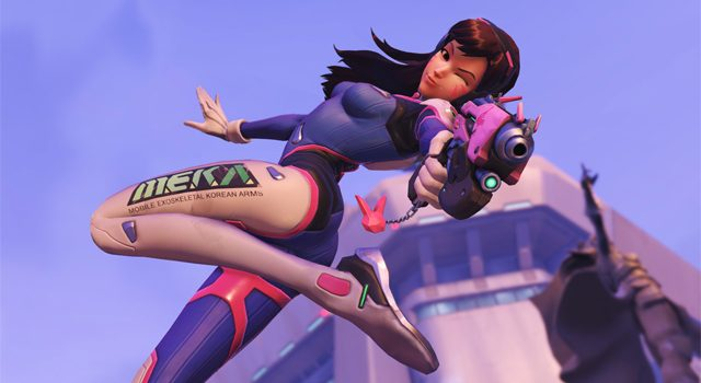 Overwatch's D.Va set for Defense Matrix buff