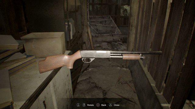 resident evil 7 shotgun