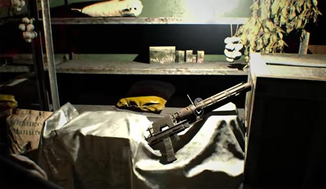 resident evil 7 grenade launcher