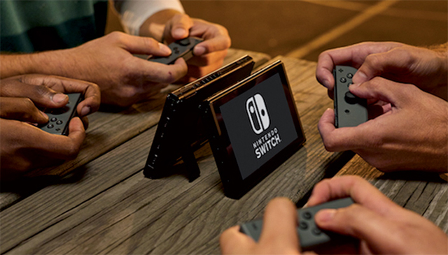 TABLE TOP: The Nintendo Switch's portability is winning it plenty of fans. PHOTO: Nintendo