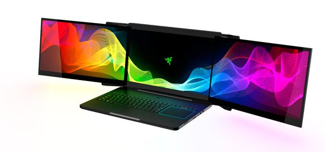 Introducing Razer's Project Valerie: A triple display beast of a gaming laptop