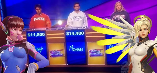 Jeopardy has no Mercy for these contestants who don't know what Overwatch is