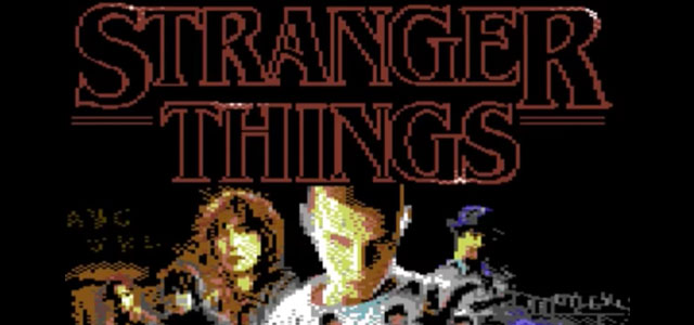 Stranger Things Commodore 64 Game Prototype Revealed