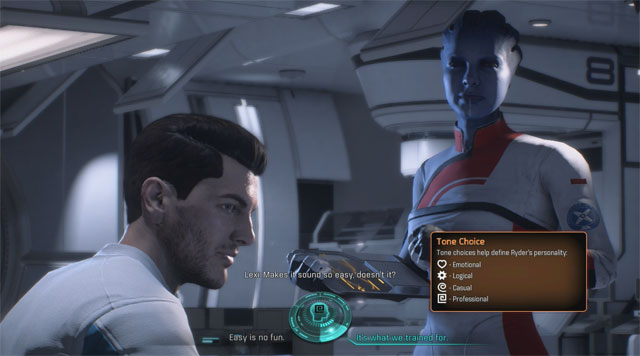 Mass Effect Andromeda and romance: How the new dialogue 'tones' change your interactions