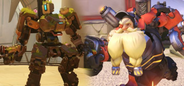 New Overwatch comic reveals bond between Bastion and Torbjorn