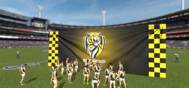AFL Evolution first look: No gameplay, and a slightly off rendition of Tigerland