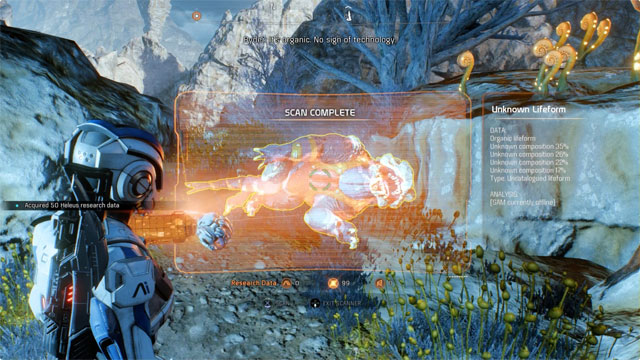 Mass Effect Andromeda guide: How to best use the scanner to your advantage