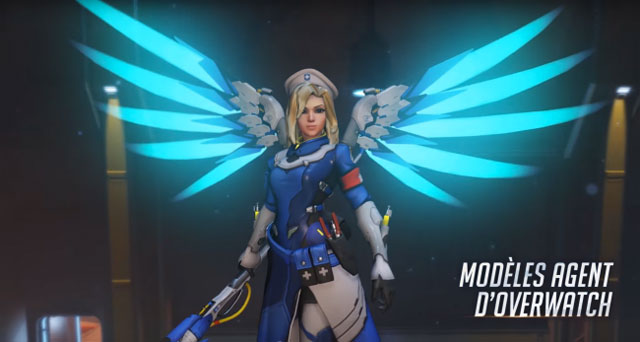 Overwatch Insurrection mercy skin