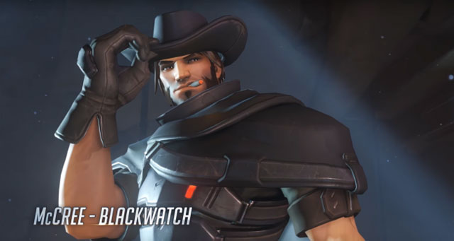 Overwatch Insurrection mccree skin