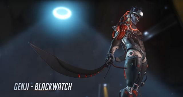 Overwatch Insurrection genji skin