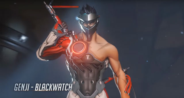 Overwatch Insurrection genji skin