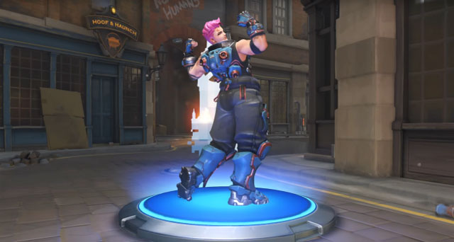 Overwatch Insurrection zarya emote