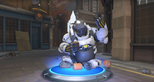 Overwatch Insurrection winston emote