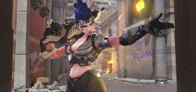 King's Row has fallen in new Overwatch PVE event, Uprising
