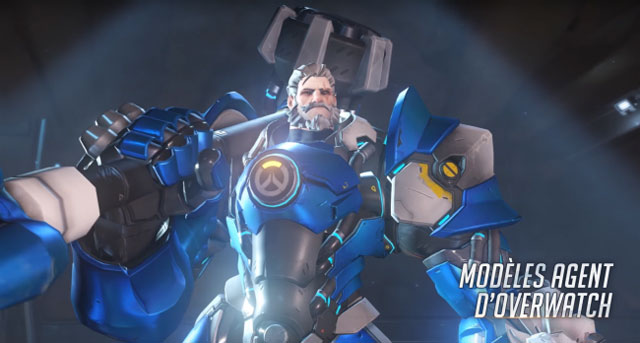 Overwatch Insurrection reinhardt skin