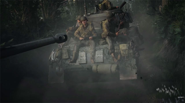 call of duty ww2 reveal trailer