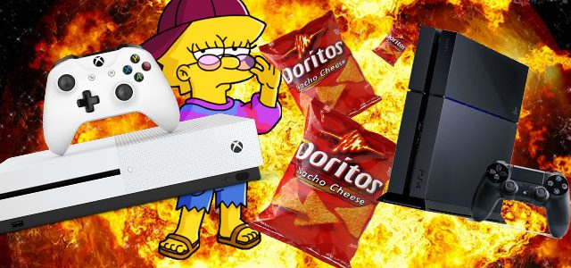 Xbox, PlayStation and Doritos are three of the coolest brands on the planet. Seriously.