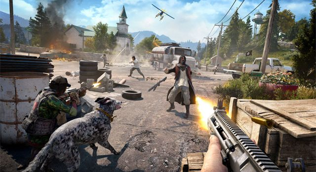 Far Cry 5 co-op lets you play the whole campaign with a friend, but local is off the table