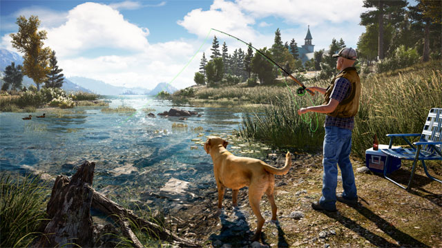 Far Cry 5 fishing guide: Where to find a rod and how to fish
