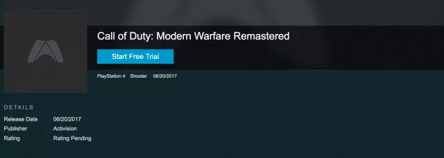 modern warfare remastered standalone release date