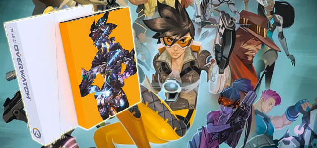 Overwatch art book and comic anthology revealed