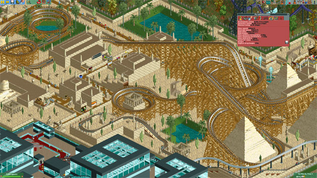 The RollerCoaster Tycoon creation that was 10 years in the