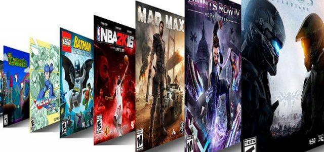 xbox games pass list
