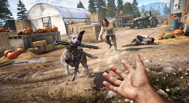 Far Cry 5 animals guide: How to tame a dog, bear and mountain lion